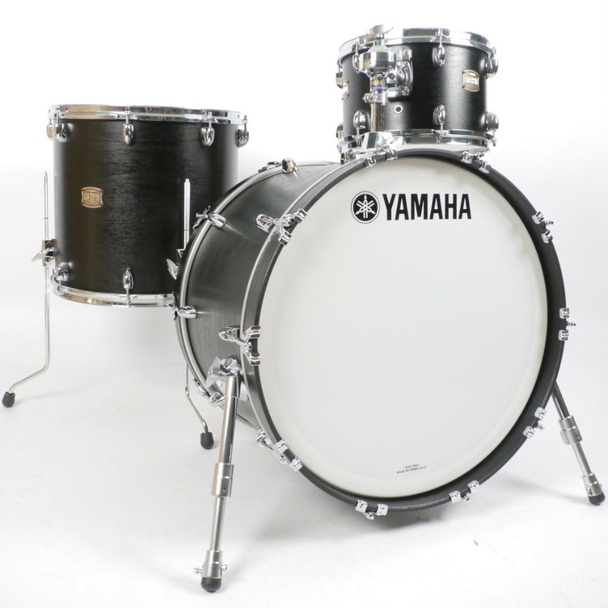 Yamha 4pc. Club Custom Black Wood 22/12/16/14 Snare Drum