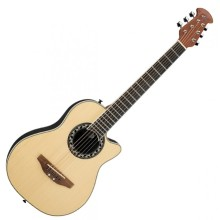 Applause AA12 Mini-Bowl 1/2 Size Steel String Acoustic Guitar - Natural