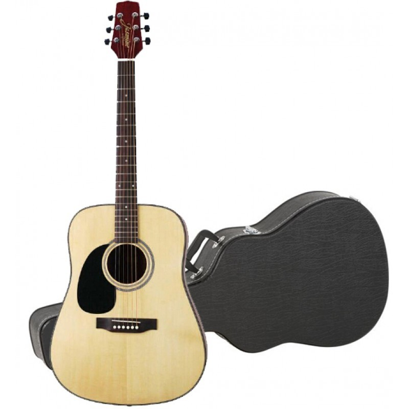 Jasmine By Takamine S33 Left Handed Dreadnought Acoustic Guitar