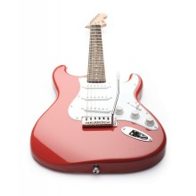 Fender Squier Bullet 6-String Best Starter Tremolo Electric Guitar - Fiesta Red
