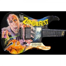 ESP LTD Zombiefest Limited Edition Art Guitar