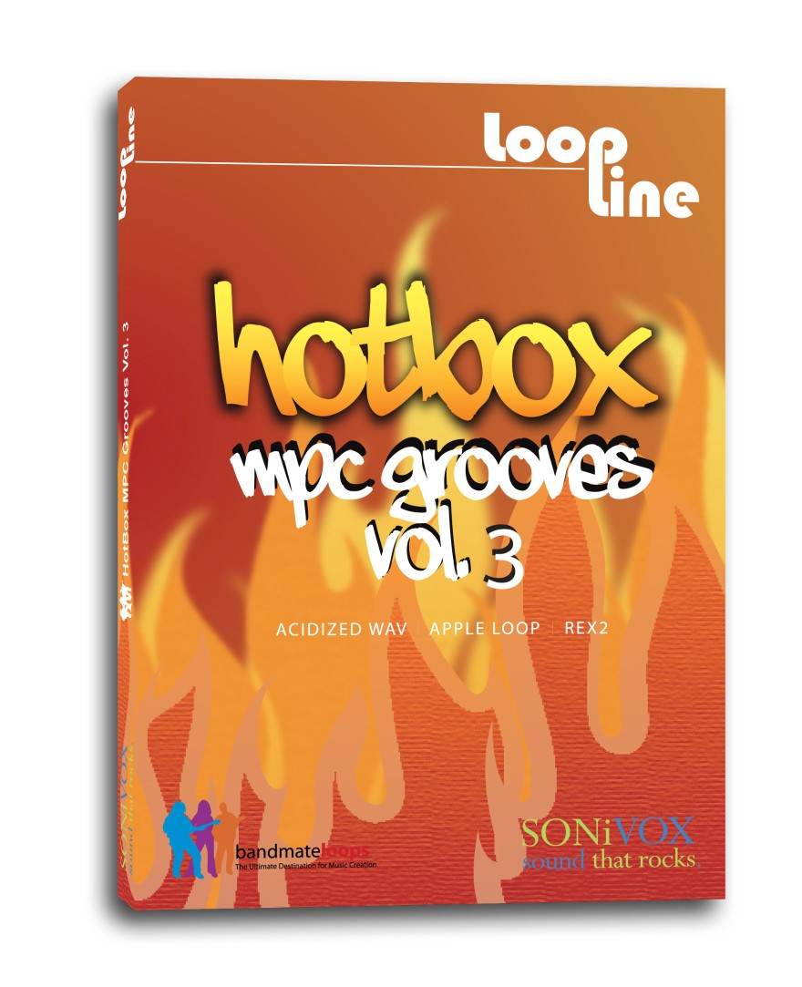 Sonivox Hotbox Volume 3 MPC Grooves Loop Collection