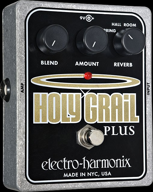 Electro-Harmonix Holy Grail Plus Variable Reverb Guitar Pedal