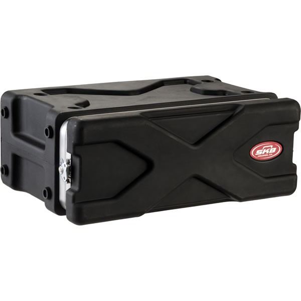 SKB 1SKB-XRACK3 3-Space Shallow DJ Rack Gear Case 3U