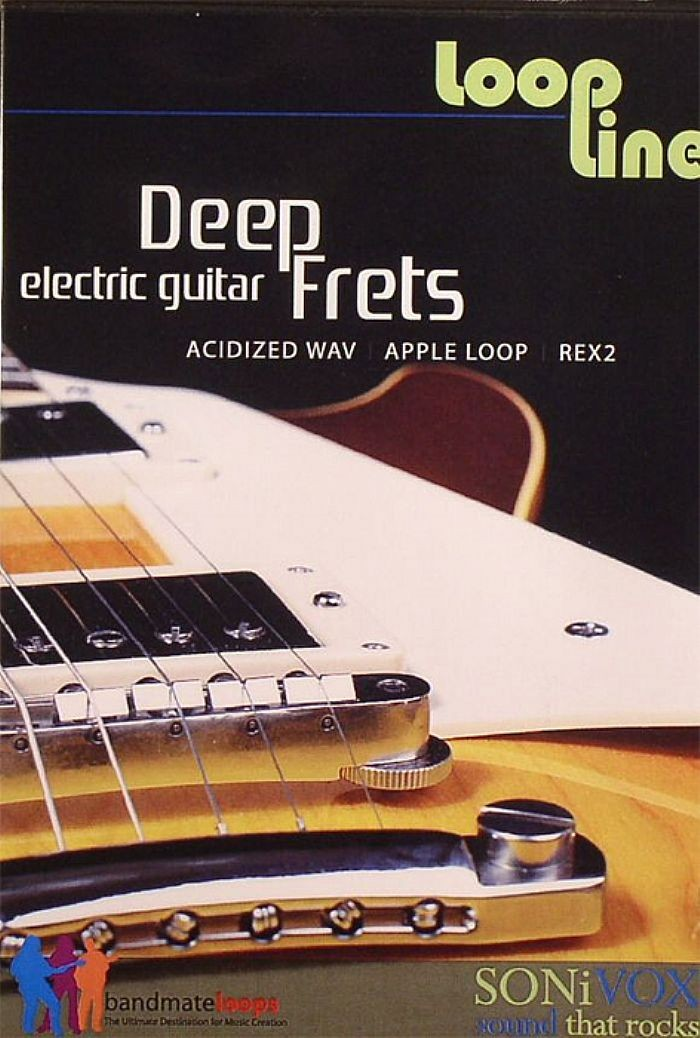 Sonivox Deep Frets Electric Guitar Loop Collection