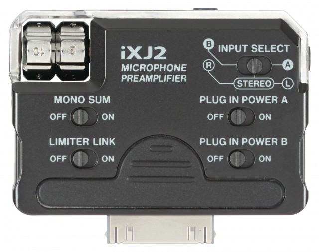 Tascam iXJ2 Mic/Line Preamp for iPod, iPhone and iPad
