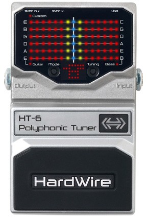 DigiTech HT-6 Polyphonic Chromatic Guitar Tuner Pedal
