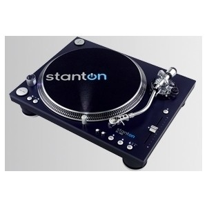 Stanton ST-150 High Torque Direct Drive DJ Turntable (S tone arm)