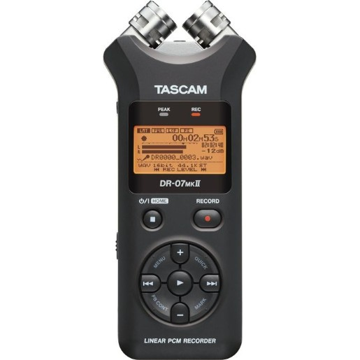 Tascam DR-07MKii DR-07 mkII Portable Didital Audio Recorder