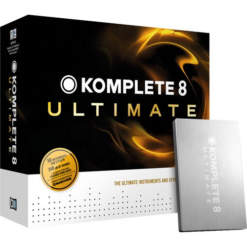 Native Instruments Komplete 8 Ultimate Virtual Intruments & Effects Collection
