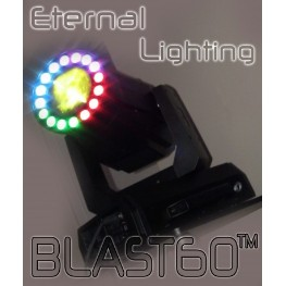 Eternal Lighting Blast60 DJ/Club Moving Head Spot, Beam, Wash, Color wheel: 7 Colors