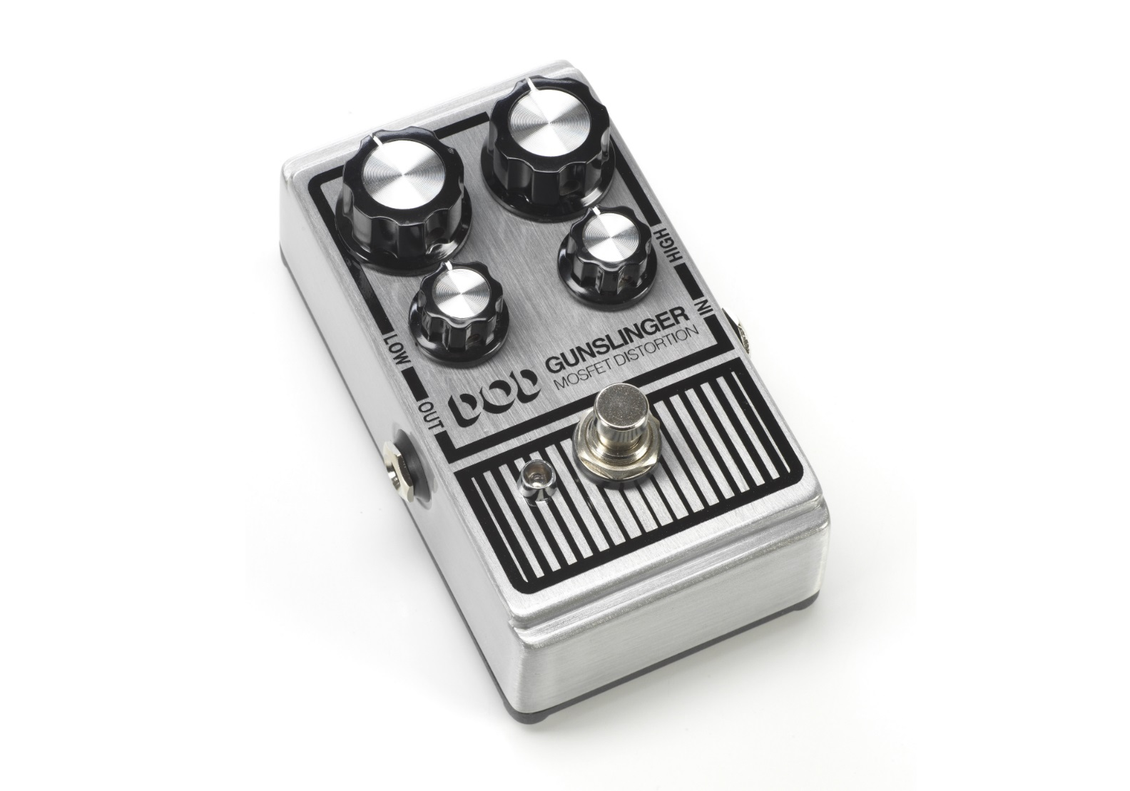 Digitech Dod Gunslinger Mosfet Distortion guitar effects pedal review