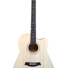 Acoustic Guitar for beginners Natural Full Size iMusic640